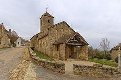 Eglise de la Nativité de la Vierge  . Bissy sur Fley . Bourgogne
