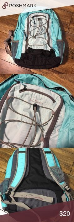 L.L.  Bean Back pack Very gently used pack | As pictured one of the straps has some marks on it | Clean no holes, rips or stains. Has. Lap top slip pocket L.L. Bean Bags Backpacks