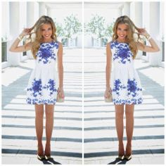 How to Chic: FLORAL PRINT DRESS