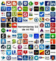 Herramientas 2.0 para aplicar en educación | Educación 4.0. En su blog están explicados cada uno de los iconitos. Hay que hacer click en la foto para entrar a su blog. Raúl Diego