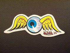 Von Dutch 1956 Flying Eye   Flying Eyeball -VD   Pinterest