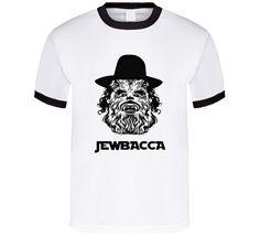 Jewbacca Star Wars spoof t-shirt Jewish Chewbacca FUNNY t-shirts