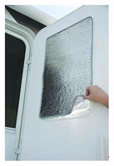 RV Door Window Cover 16 X 24 Sun Shield Shade - Camper - ...