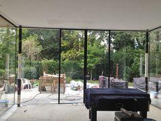 Woonhuis Gelderland Extension Ideas, House Extensions, Villa, Windows, Doors, Outdoor Decor, Modern, Design, Home Decor