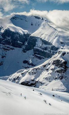 Sitting at an altitude of 7,082 feet, Sunshine Village is nestled in the heart of Banff National Park and is known for its varied terrain, straddling the Continental Divide. For your chance to win a 7-night dream vacation to Banff and Lake Louise visit http://www.skibig3.com/promotions/pintrest/?utm_source=hellosociety&utm_medium=pinterest&utm_content=leadgen&utm_campaign=flight3_14-15