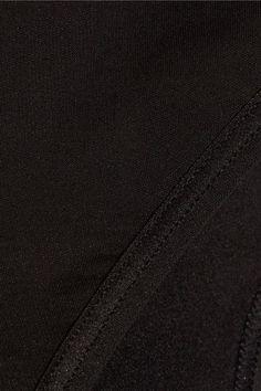 Yummie by Heather Thomson - Lorelai Stretch-jersey Thong - Black - x small