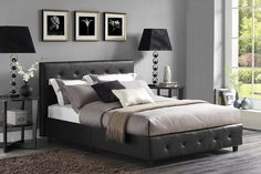 Claudius Upholstered Bed