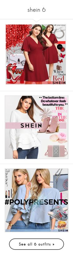 """shein 6"" by emina-095 ❤ liked on Polyvore featuring Concrete Minerals, Tim Holtz, shop, woman, polyvoreeditorial, shein, Bobbi Brown Cosmetics, Anja, Wall Pops! and Disney"