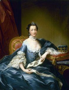 Portriat Of The Landgrafin Maria Von Hesse-Cassel