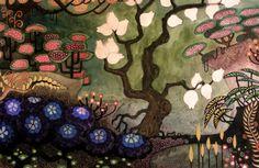 """Manuel Kofler,http://unerde.deviantart.com/    """"At the Mountain of Fruit and Flowers"""" series"""