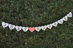 Cute wedding photo prop banner! Just married #justmarried #wedding