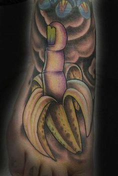 by Steve Roberts finger banana  2008