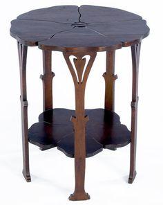 """Gustav Stickley """"Poppy Table"""""""