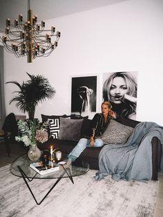 home interior decor Apartment Chic, Dream Apartment, Apartment Design, Home Bedroom, Home Living Room, Living Room Decor, Interior Design Living Room, Living Room Designs, Decoration Bedroom