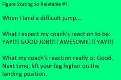 Well I can relate even thought I don't have a coach anymore!