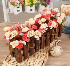 Decoración de Flores Artificiales,   http://www.beads.us/es/producto/Decoracion-de-Flores-Artificiales_p70335.html?Utm_rid=163955