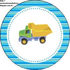 Kit para impressão Brinquedos de meninos