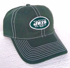 new Green/White NEW YORK JETS HAT Casual-Relaxed-Fit Cotton Men/Women Golf Cap #Reebok #NewYorkJets