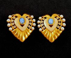 Elizabeth Taylor for Avon Heart of by GrapenutGlitzJewelry on Etsy, $68.00 #vintagejewelry