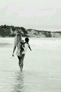 Bey and baby Blue Ivy