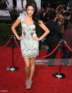 Shay Mitchell attends the 'Prince of Persia: The Sands of Time' Los Angeles Premiere at Grauman's Chinese Theatre on May 17, 2010 in Hollywood, California.