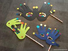DIY Mardi Gras – Au bal masqué ohé oh… – - Mardi Gras Creative Activities, Activities For Kids, Mardi Gras Activities, Mardi Gras Centerpieces, Big Dot Of Happiness, Mardi Gras Costumes, Mardi Gras Party, Kindergarten Activities, Diy Crafts For Kids