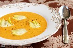 Tomato Artichoke Soup #vegan