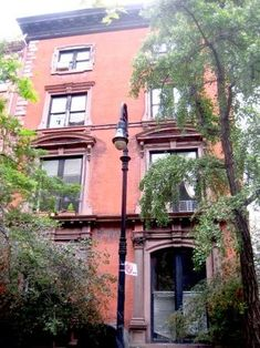 The 'House of Death'  14 West 10th Street, Manhattan   This simple brownstone is often considered the MOST haunted place in Manhattan, as a variety of spirits have appeared in the building's stairwells, including that of a former inhabitant -- Mark Twain!