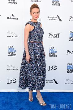 Brie Larson at the Independent Spirit Awards