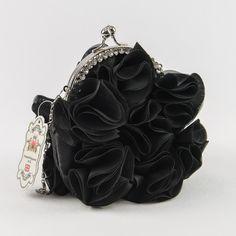 Krasna cierna vecerna kabelka
