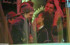 Robert Pattinson and FKA Twigs Kissing in LA | POPSUGAR Celebrity