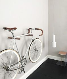 Minimal Father's Day gifts from Etsy - cool bike wooden bike hooks for bike storage in the living room Trendy Father's Day gifts from Etsy. Father's day gifts for a trendy Dad. Minimal Father's Day presents handmade by artists on Etsy. Hanging Bike Rack, Wall Mount Bike Rack, Bike Hooks, Bike Mount, Bike Shelf, Bike Hanger Wall, Indoor Bike Storage, Indoor Bike Rack, Bicycle Storage