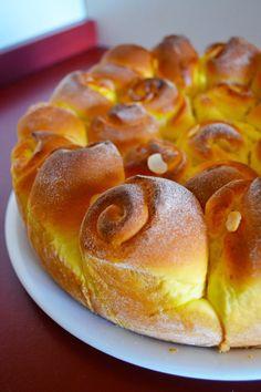 Custard Rose Pie