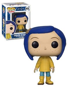 Animation Coraline Coraline In Raincoat - New, Mint Condition Funko Pop Dolls, Funko Pop Vinyl, Coraline, Funko Pop Figures, Pop Vinyl Figures, Funko Pop Display, Pop Figurine, Funk Pop, Cartoon Wallpaper