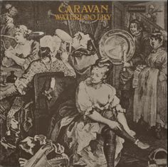 Caravan, Waterloo Lily - Tan/White Labels - Ex, UK, Deleted, vinyl LP album (LP record), Deram, SDL8, 278605