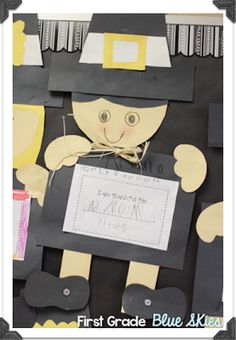 Thanksgiving Pilgrim And Turkey Crafts For Fall Easy Craft Adorable