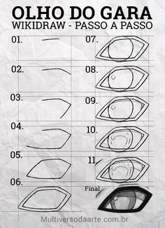 Manga Drawing Tutorials, Manga Tutorial, Drawing Techniques, Drawing Tips, Drawing Sketches, Naruto Eyes, Naruto Shippuden Sasuke, Anime Naruto, Manga Eyes