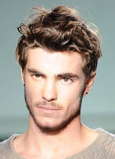 hairstyles for men with having curly hair