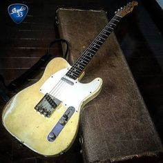 #TeleTuesday! Here's an amazing 1960 #Telecaster with original case from @arkay1959 #VintageGuitar #Studio33Guitar #FenderTelecaster