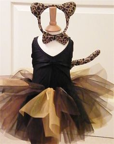 Tutus Twinkles - Halloween Dress-Up Leopard tutu set Easy Costumes, Costumes For Teens, Halloween Dress, Diy Halloween Costumes, Animal Dress Up, Dress Up Outfits, Dresses, Fancy Dress For Kids, Girls Accessories