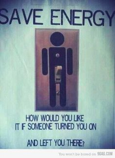 Save electricity!!!