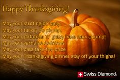 Funny Thanksgiving Blessing Poem