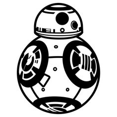 Celebrate Star Wars Episode VII: The Force Awakens with a sticker of BB-8!