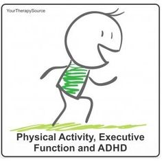 Physical Activity, Executive Function and ADHD - pinned by @PediaStaff – Please Visit ht.ly/63sNtfor all our pediatric therapy pins