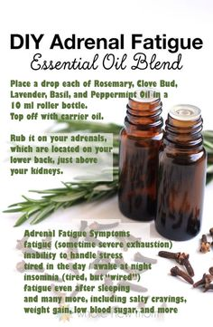 """Health & Nutrition DIY Adrenal Fatigue Essential Oil Blend """"How To"""" Start Trading The Forex Market? Essential Oils Guide, Doterra Essential Oils, Essential Oils Adrenal Fatigue, Essential Oils For Pain, Homemade Essential Oils, Natural Essential Oils, Band Workout, Healing Oils, Essential Oil Diffuser Blends"""