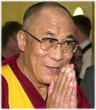 .. the 14th (and current) Dalai Lama Tenzin Gyatso is definitely bald