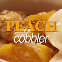 Chunks of juicy peaches and sugar-coated dough come together to make one decadent Peach Cobbler.