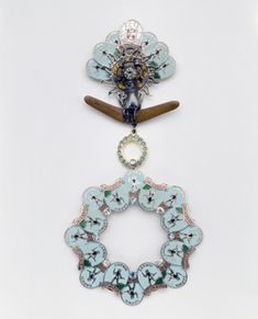 """""""Order of Darwin"""" Brooch Museum Of Fine Arts, Darwin, Houston, Crochet Earrings, Brooch, Collection, Jewelry, Jewlery, Jewerly"""