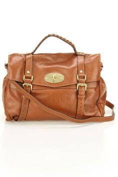 Mulberry Oversized Alexa Soft Buffalo Shoulder Bag In Oak
