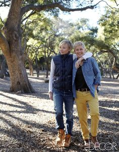 Inside Ellen Degeneres And Portia De Rossis Home. It's beautiful, like the couple who live in it!!!